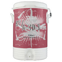 TABU HIV/Aids awareness Igloo 5 gallon cooler