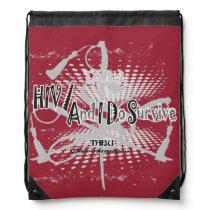 TABU HIV/Aids awareness  String Backpack