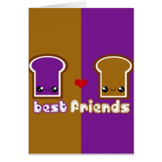 Tabu Japan Best Friends Line- PB&J Card
