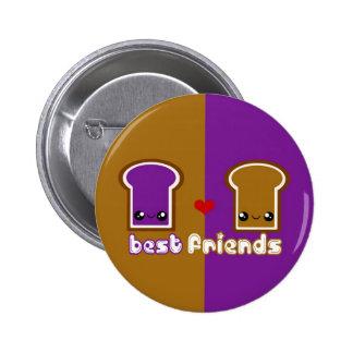 Tabu Japan Best Friends Line- PB&J Pinback Button