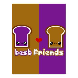 Tabu Japan Best Friends Line- PB&J Postcard