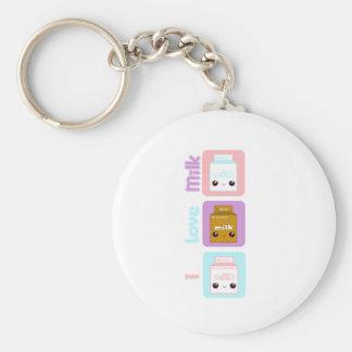 Tabu Japan- Milk Line Keychain
