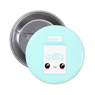 Tabu Japan Milk Line Pinback Button