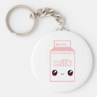 Tabu Japan Milk Line- Strawberry Keychain