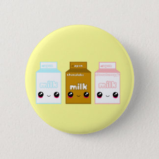 Tabu Japan Milk Line- Triple Pinback Button
