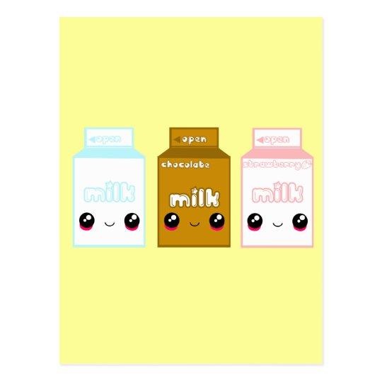 Tabu Japan Milk Line- Triple Postcard