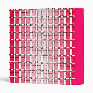 Tabu Japan Pink Mini Fridge 3 Ring Binder