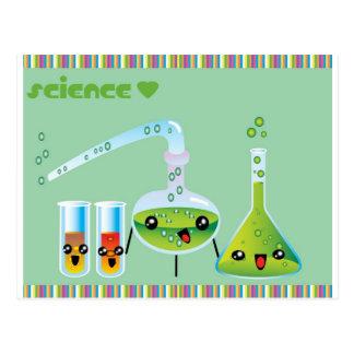 Tabu Japan Science Collection Postcard