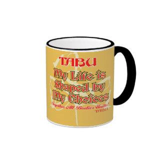 TABU Life Choices Coffee Mug