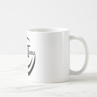 Tabu Logo Black Gear Line Classic White Coffee Mug