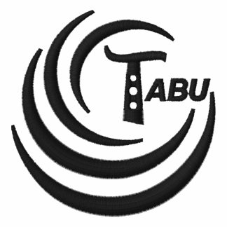 Tabu Logo Ladies T  Embroidered Black  Logo