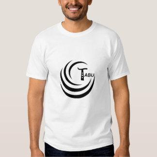 Tabu Logo no back TABU clear LARGE PNG T Shirt