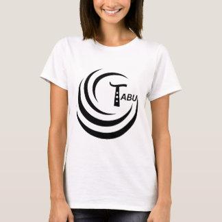 Tabu Logo no back TABU clear LARGE PNG T-Shirt