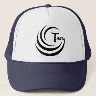Tabu Logo no back TABU clear LARGE PNG Trucker Hat