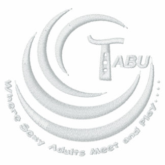 Tabu Logo with slogan embroidered Embroidered Hooded Sweatshirts