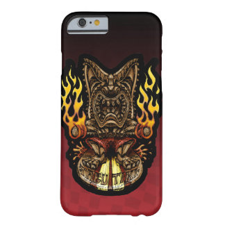 Tabu Tiki Surfing Tropical Fire God Barely There iPhone 6 Case