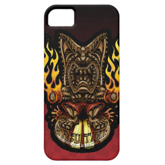 Tabu Tiki Surfing Tropical Fire God iPhone SE/5/5s Case