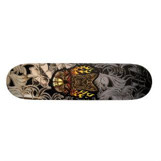 Tabu Tiki Surfing Tropical Fire God Skateboard Deck