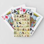 Tábua de alfabeto chinês baralho para pôquer