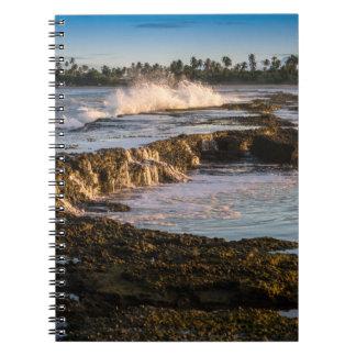 Tabuba Beach: Breaking Waves On The Reefs Notebook