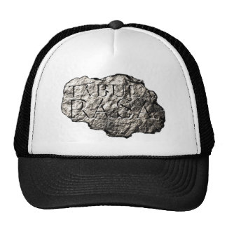 Tabula Rasa logo cap Trucker Hat
