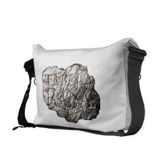 Tabula Rasa logo messenger bag