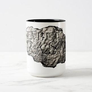 Tabula Rasa logo mug
