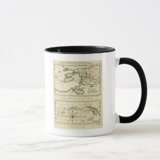 Tabularum geographicarum specimen World Map Mug