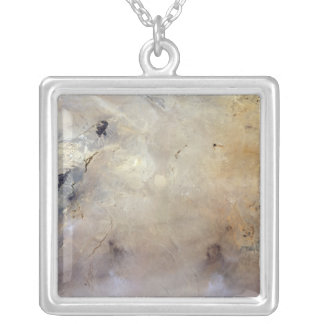 Tabun-Khara-Obo Silver Plated Necklace