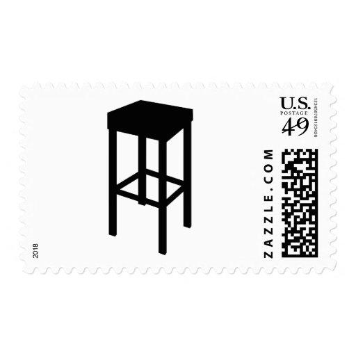 taburete de bar sello