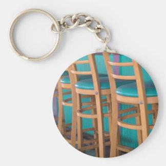 taburete de bar tropical llavero redondo tipo pin