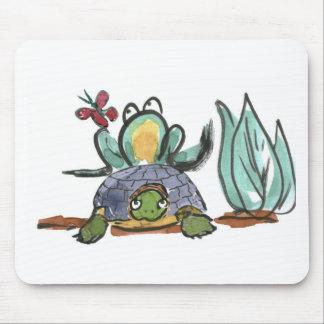 Taburete del paso de la tortuga para la rana que o tapetes de raton