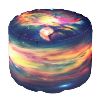 Taburete redondo Hauntingly hermoso de la nebulosa