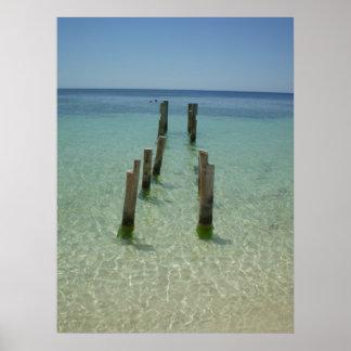 Tabyana Beach Poster