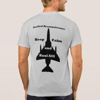 Tac Recce #1 -- F-4 on back T-Shirt