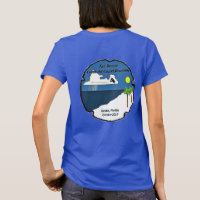 Tac Recce Ladies #1 -- Beach View on Back T-Shirt
