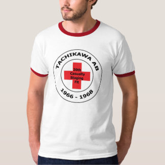 Tachikawa AB Japan 20th Casualty Staging Flt T-Shirt