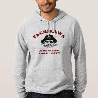tachikawa air base japan 1945-1977 hooded pullover