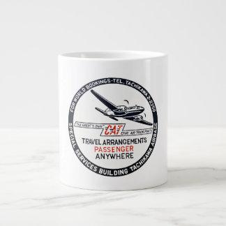 Tachikawa Air Base Japan CAT Passenger Large Coffee Mug