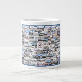 Tachikawa Air Base Japan Photo Collage Large Coffee Mug