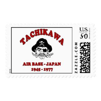 tachikawa air base japan stamp