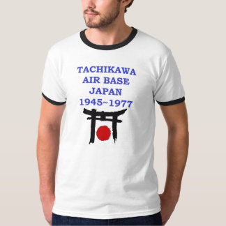 tachikawa air base japan T-Shirt