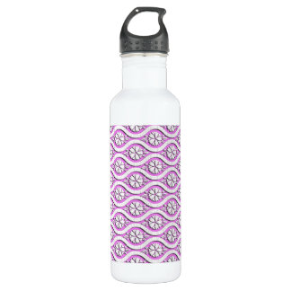 Tachiwaku with cherry blossoms japanese pattern stainless steel water bottle