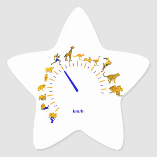 Tacho Pegatina En Forma De Estrella