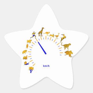 Tacho Star Sticker