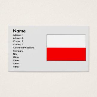 Tachov, Czech Business Card