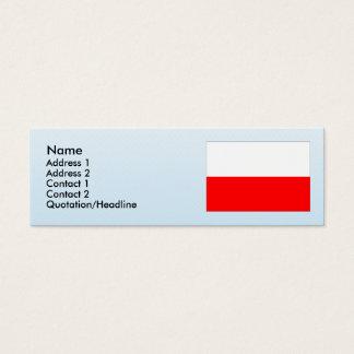 Tachov, Czech Mini Business Card