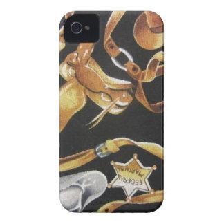 Tachuela occidental Case-Mate iPhone 4 protector