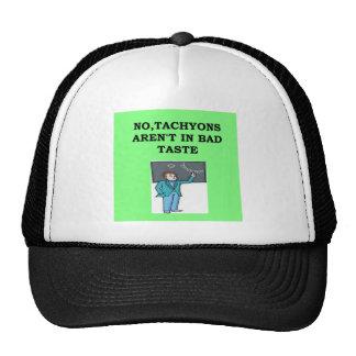 tachyons trucker hat