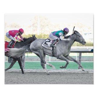 Tacitus Winning the Wood Memorial Stakes Photo Print